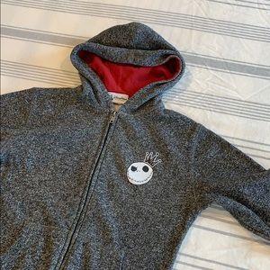 Boys Medium Nightmare Before Christmas hoodie